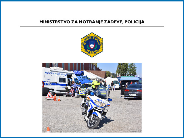 MINISTRSTVO ZA NOTRANJE ZADEVE, POLICIJA